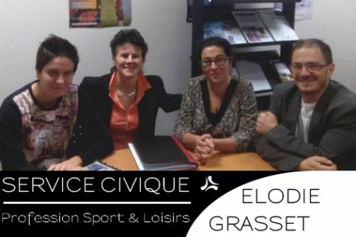 Témoignage d'Elodie en mission au Club de Football les Verchers sur Layon